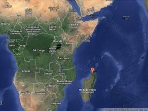 Mappa Madagascar